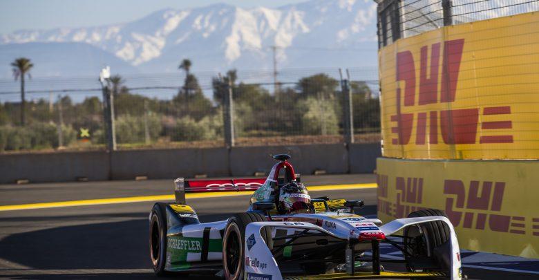 Daniel Abt Marrakesh ePrix Audi Sport Abt