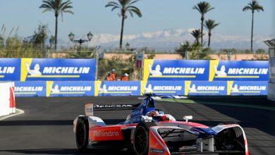 Felix Rosenqvist Mahindra Racing Marrakesh ePrix