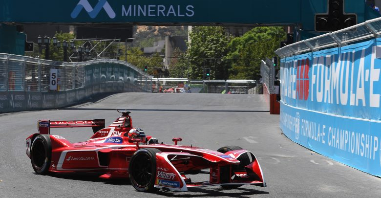 Santiago ePrix Formula E Dragon Racing