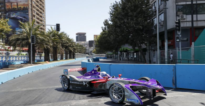 Sam Bird DS Virgin Racing Santiago ePrix