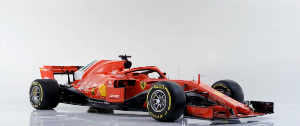 in pictures scuderia ferrari sf71 h. Black Bedroom Furniture Sets. Home Design Ideas