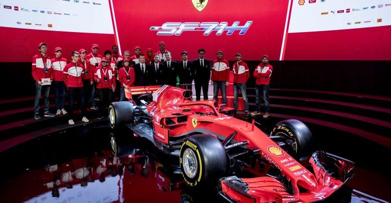 Scuderia Ferrari reveals its 2018 F1 car