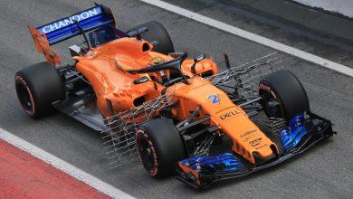 Stoffel Vandoorne McLaren Barcelona Testing