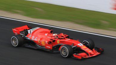 Ferrari Sebastian Vettel Barcelona Testing