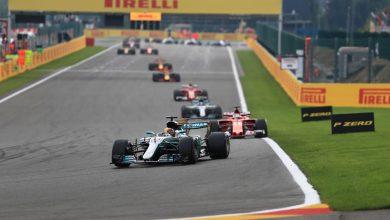 Hamilton Vettel Mercedes Ferrari Formula One