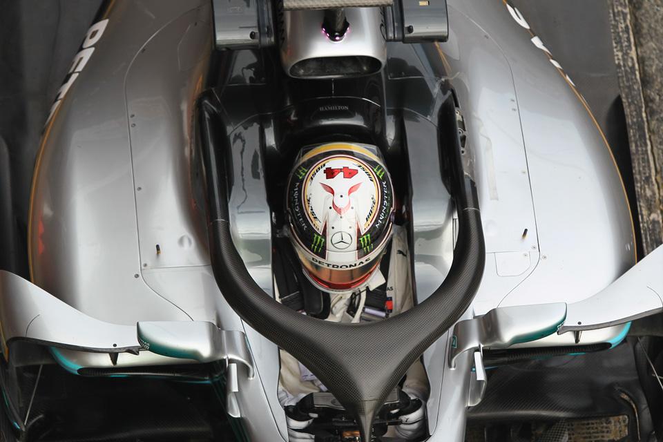 Lewis Hamilton Mercedes Australian Grand Prix Practice