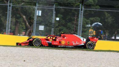 Kimi Raikkonen Australian Grand Prix Practice