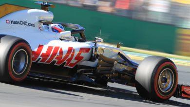 Romain Grosjean Haas Australian Grand Prix Practice