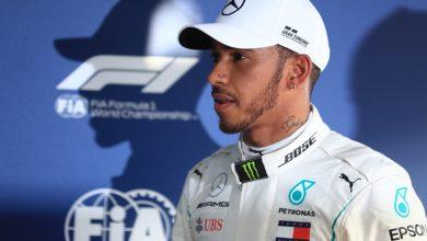 Lewis Hamilton Mercedes Qualifying Australian Grand Prix
