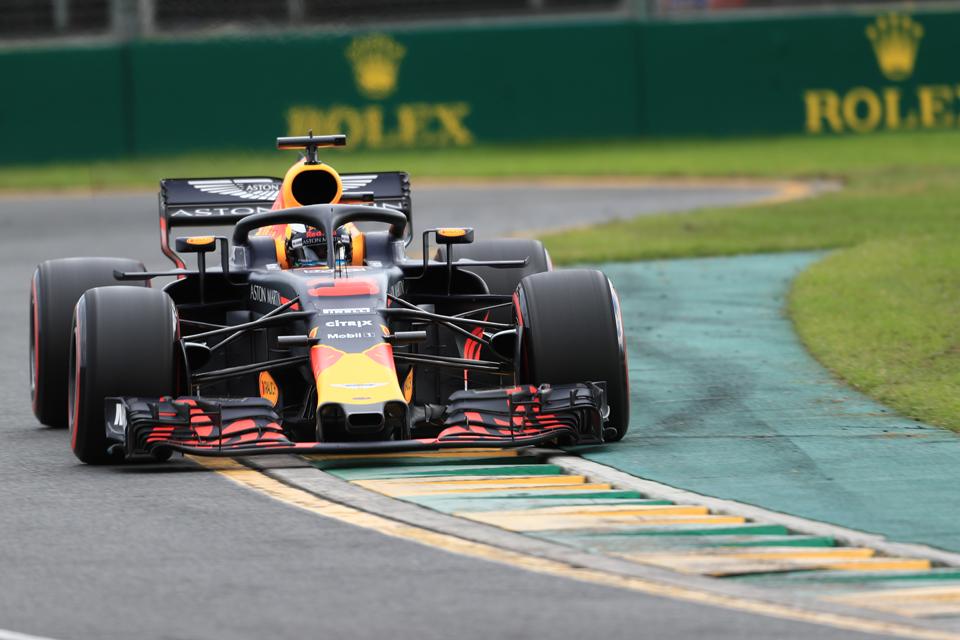 Daniel Ricciardo Red Bull Racing Qualifying Australian Grand Prix