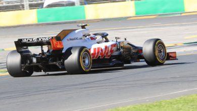 Haas Kevin Magnussen Australian Grand Prix Qualifying