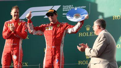 Kimi Raikkonen Ferrari Australian Grand Prix