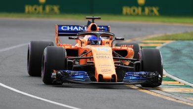 Fernando Alonso McLaren Australian Grand Prix