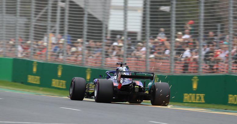 Toro Rosso DRS Australian Grand Prix