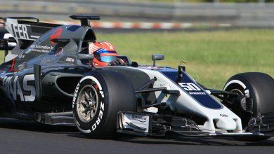 Santino Ferrucci Haas Budapest In-season test