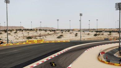 Carlos Sainz Renault Bahrain Grand Prix practice
