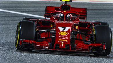 Kimi Raikkonen Ferrari Bahrain Grand Prix