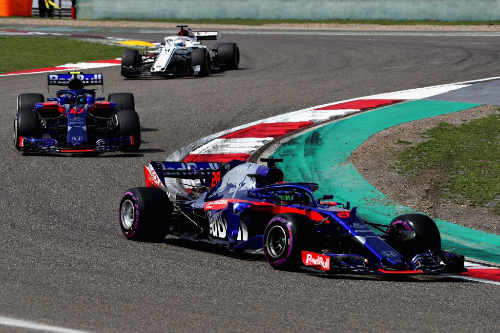 Toro Rosso Brendon Hartley Pierre Gasly Chinese Grand Prix