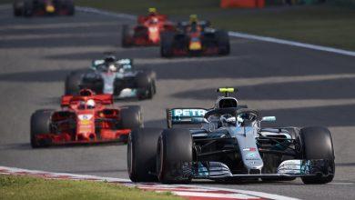Mercedes Valtteri Bottas Ferrari Sebastian Vettel Chinese Grand Prix