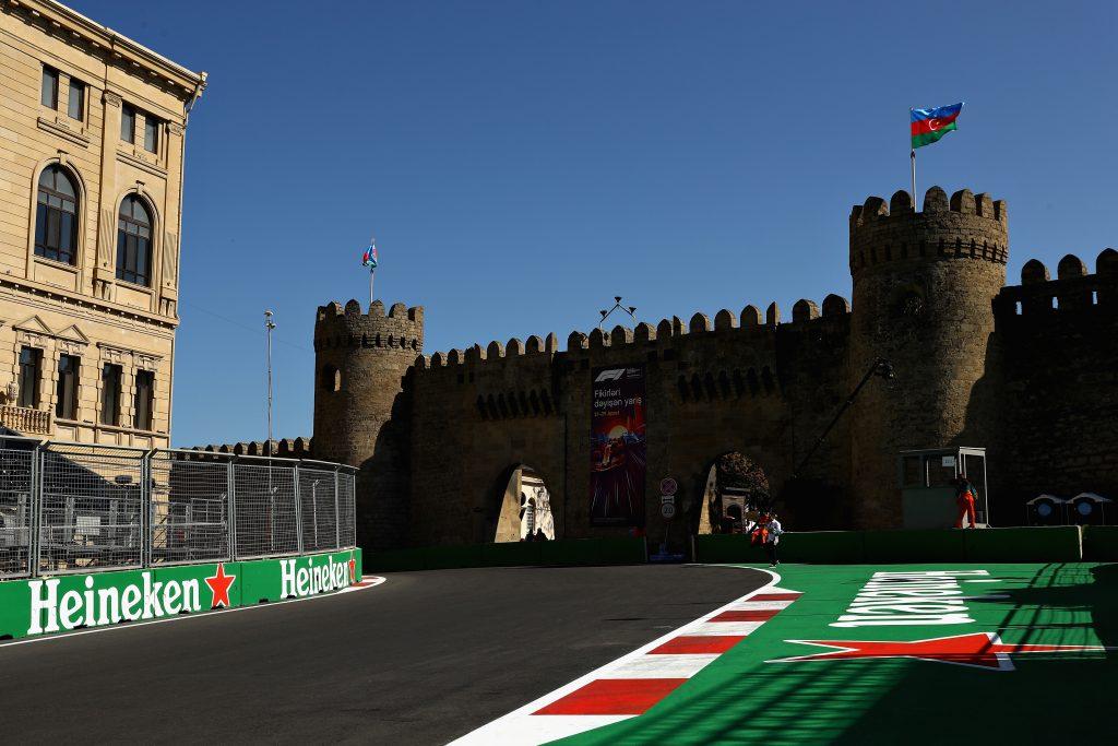 Azerbaijan Grand Prix Practice