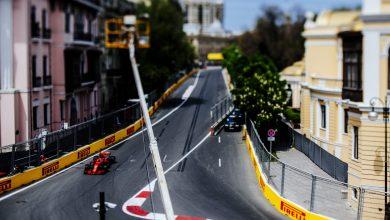 Sebastian Vettel Ferrari Azerbaijan Grand Prix