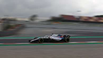 Kubica Williams testing