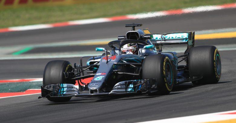 Lewis Hamilton Mercedes Spanish Grand Prix