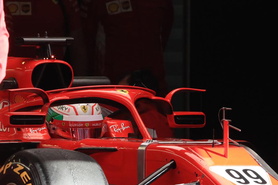 Antonio Giovinazzi Ferrari