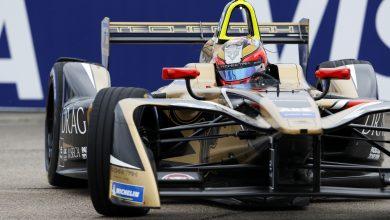 Jean-Eric Vergne Formula E Berlin ePrix