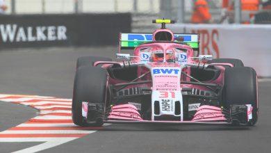 Force India Esteban Ocon Monaco Grand Prix