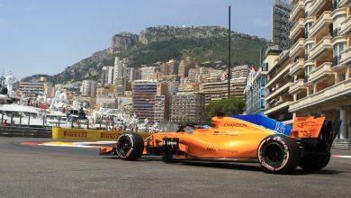 Fernando Alonso McLaren Monaco Grand Prix