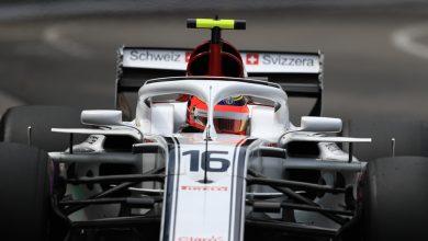 Charles Leclerc Sauber Monaco Grand Prix