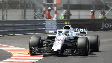 Williams Sergey Sirotkin Monaco Grand Prix