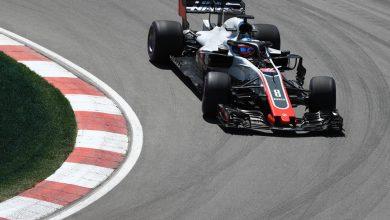 Romain Grosjean Haas Canadian Grand Prix