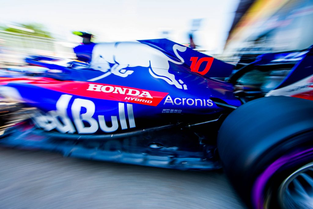 Gasly Toro Rosso Honda