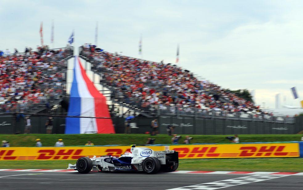 BMW French Grand Prix 2008 Magny Cours Nick Heidfeld