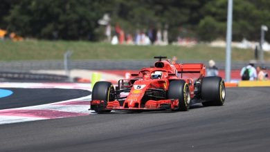 Sebastian Vettel Ferrari French Grand Prix