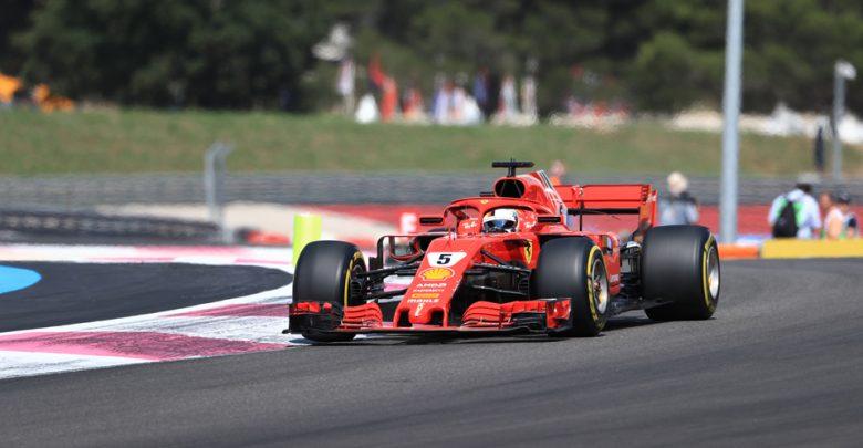 Sebastian Vettel Ferrari French Grand Prix