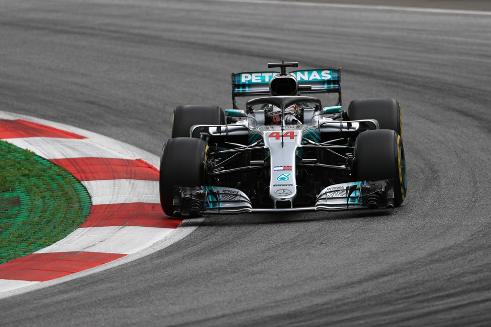 Lewis Hamilton Mercedes Austrian Grand Prix