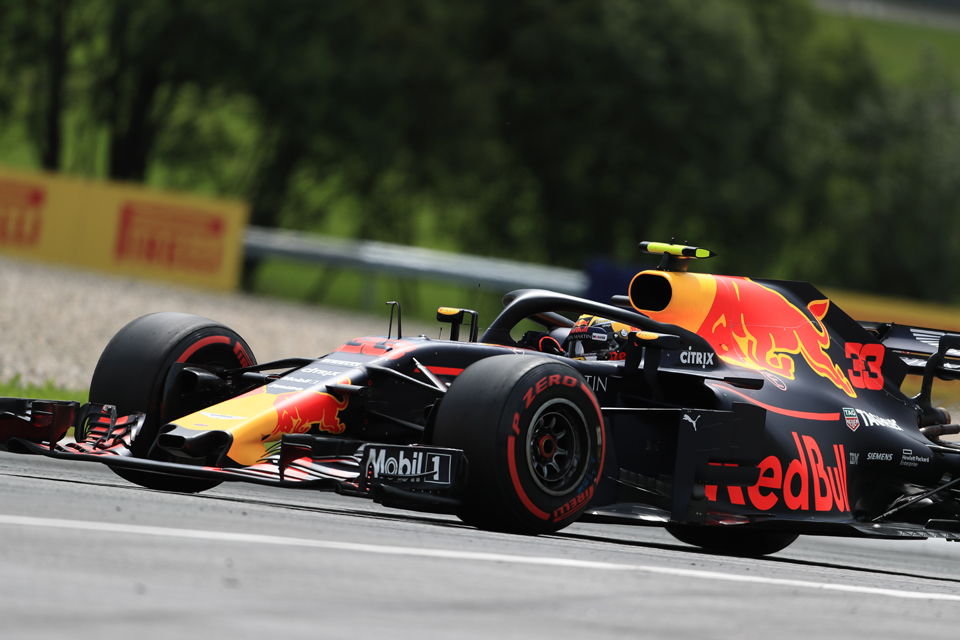 Max Verstappen Red Bull Racing Austrian Grand Prix