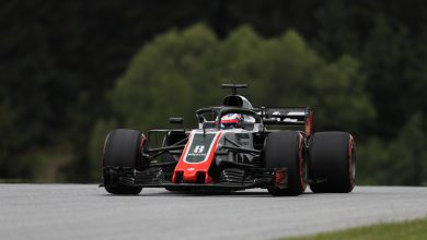 Romain Grosjean Haas Austrian Grand Prix