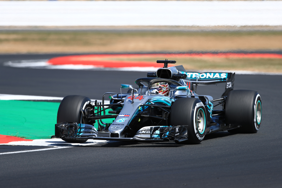 Lewis Hamilton Mercedes British Grand Prix