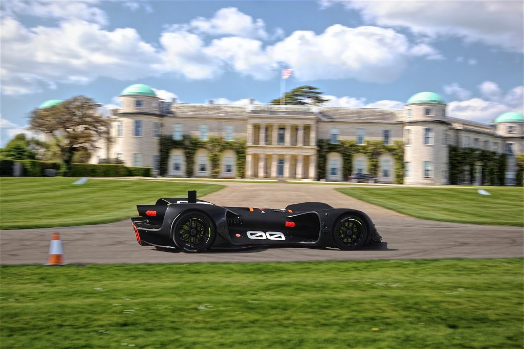 Robocar Roborace Goodwood