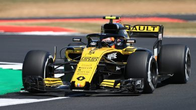 Carlos Sainz Renault British Grand Prix