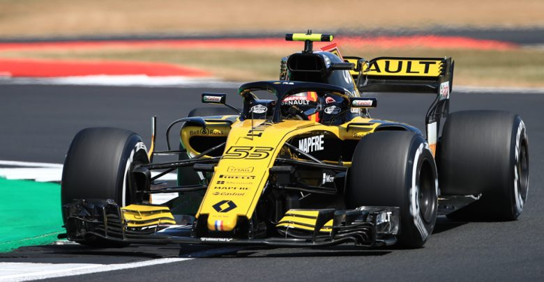 Carlos Sainz Renault British Grand Prix