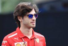 Antonio Giovinazzi Ferrari Sauber