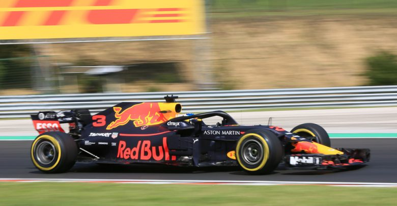 Daniel Ricciardo Red Bull Hungarian Grand Prix