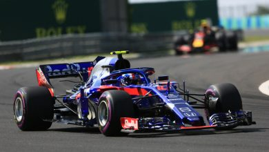 Pierre Gasly Toro Rosso Hungarian Grand Prix