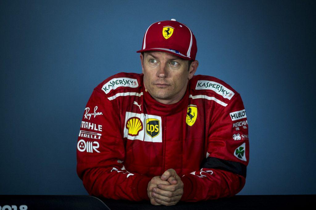 Ferrari Raikkonen Hungarian Grand Prix