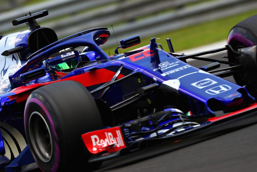 Brendon Hartey Toro Rosso Hungarian Grand Prix